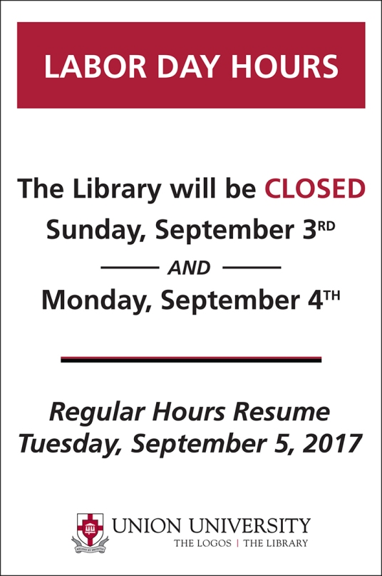 Labor Day Hours 2017 (SM)