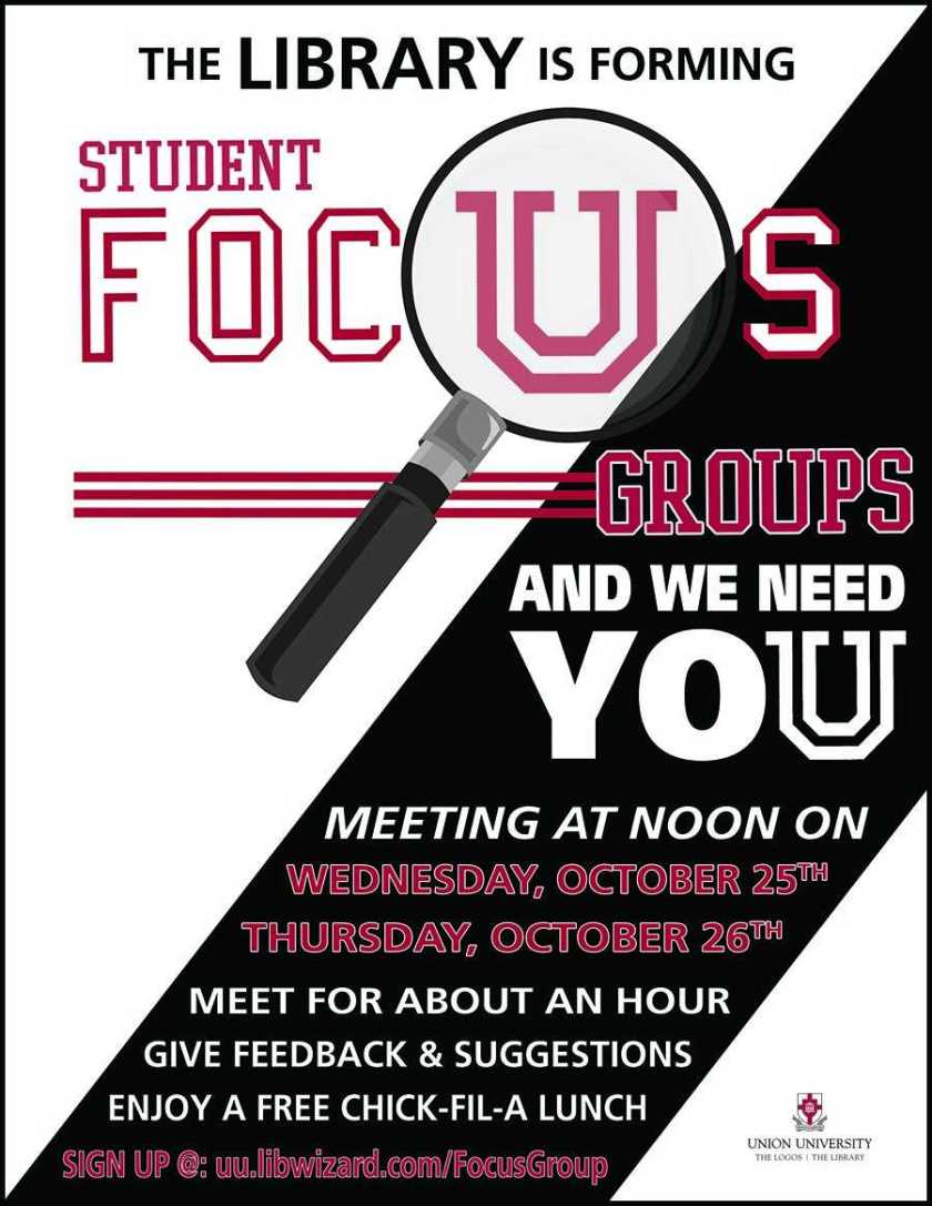 library focus groups