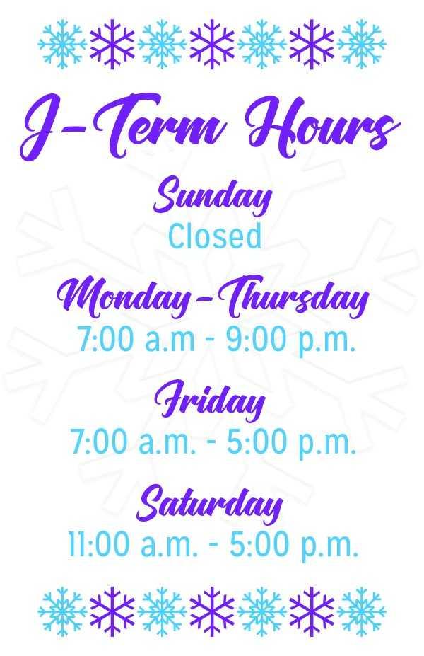 j term hours