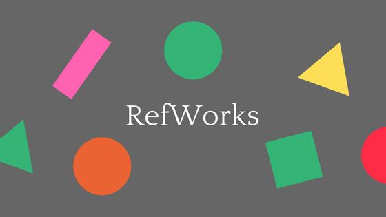 RefWorks(1)