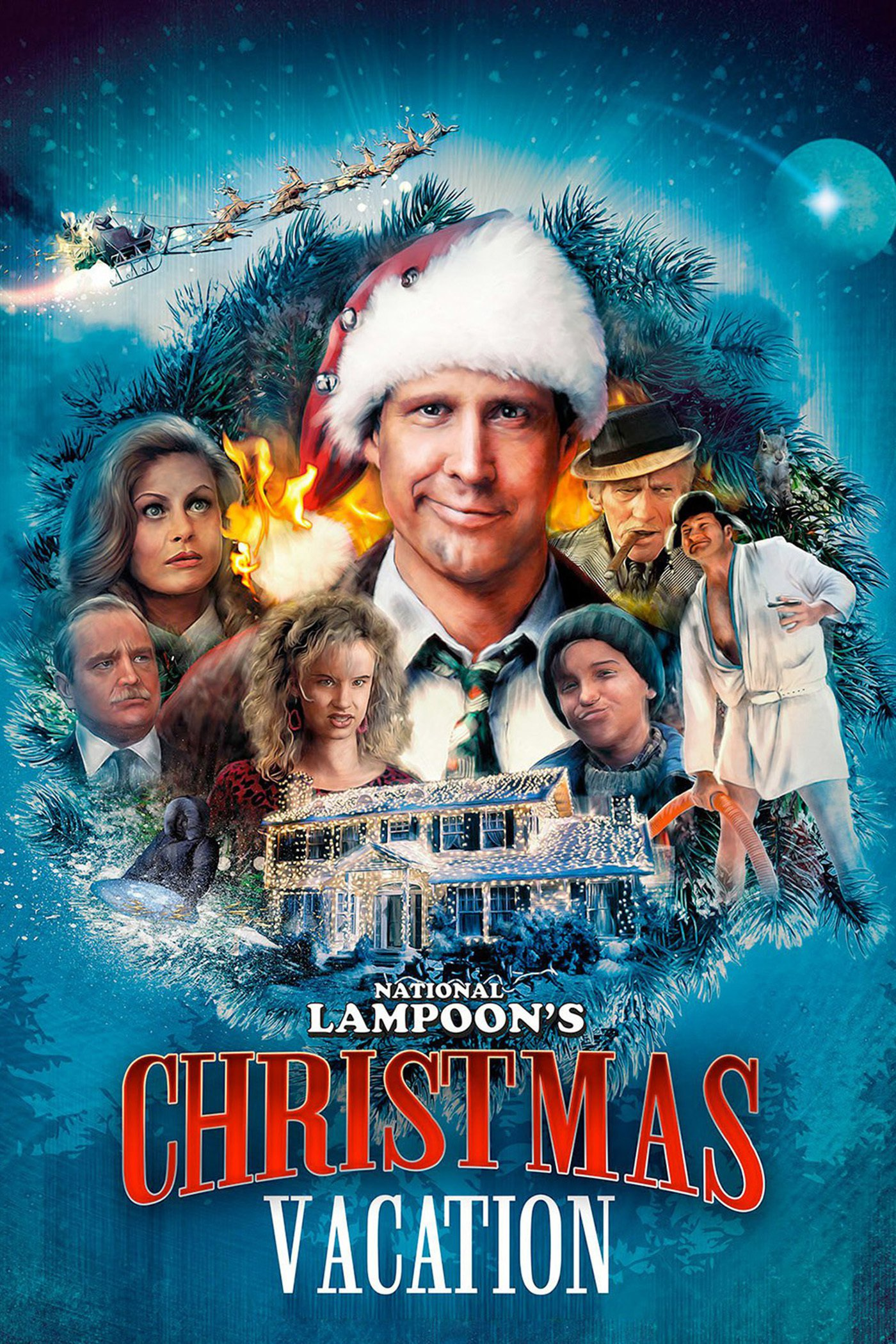 Chevy Chase Christmas Vacation.Matthew S Monday Movie National Lampoon S Christmas Vacation