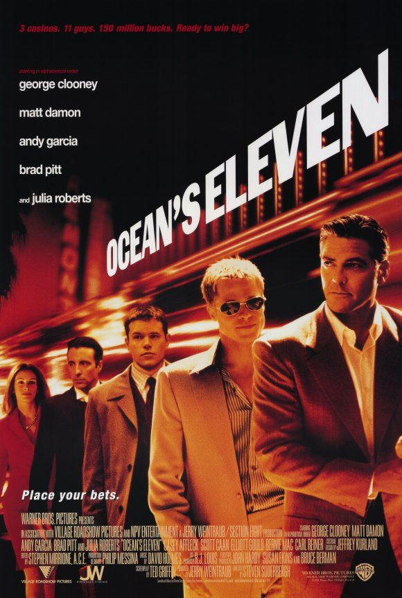 "Matthew's Monday Movie: ""Ocean's Eleven"""
