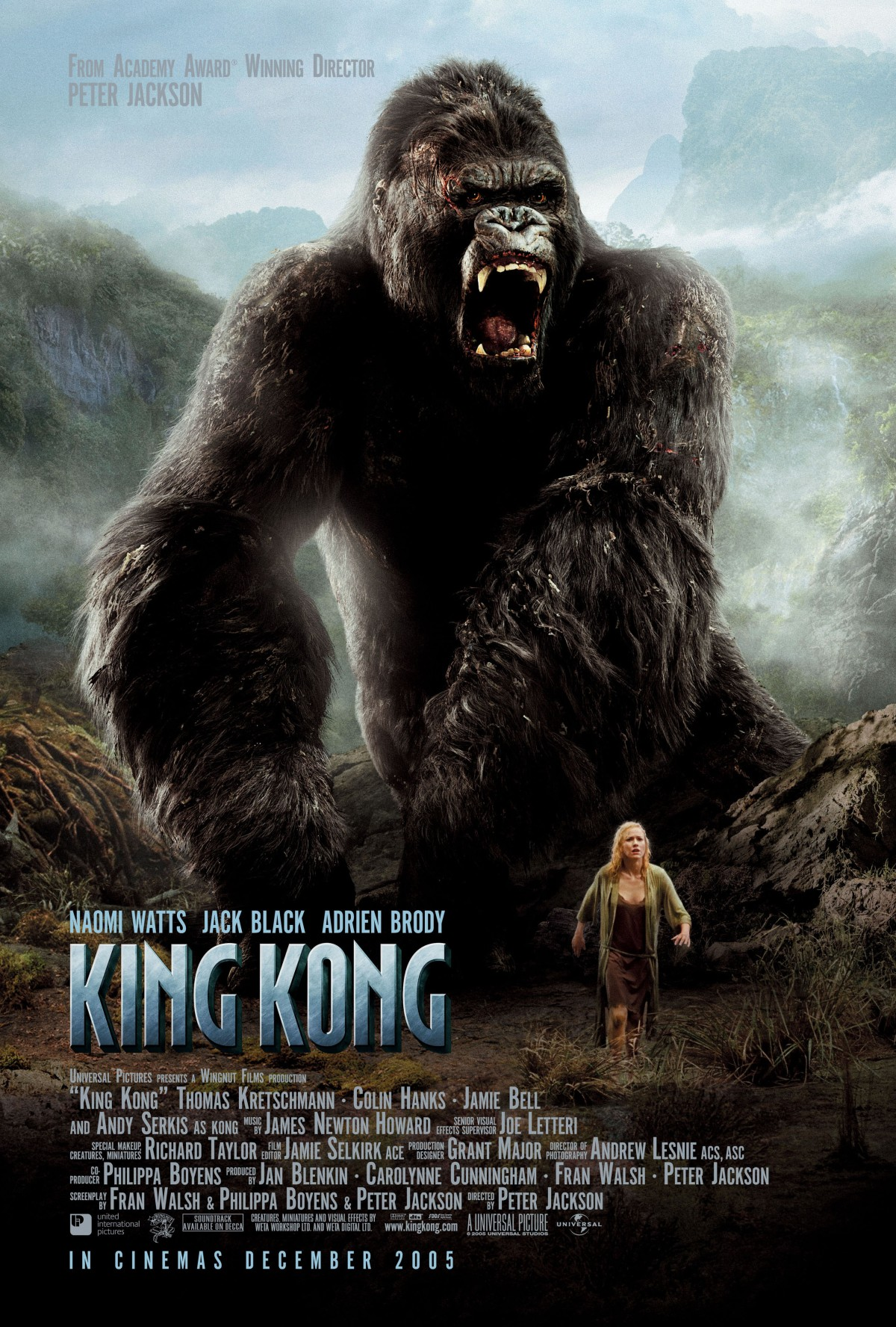 "Matthew's Monday Movie: ""King Kong"" (2005)"