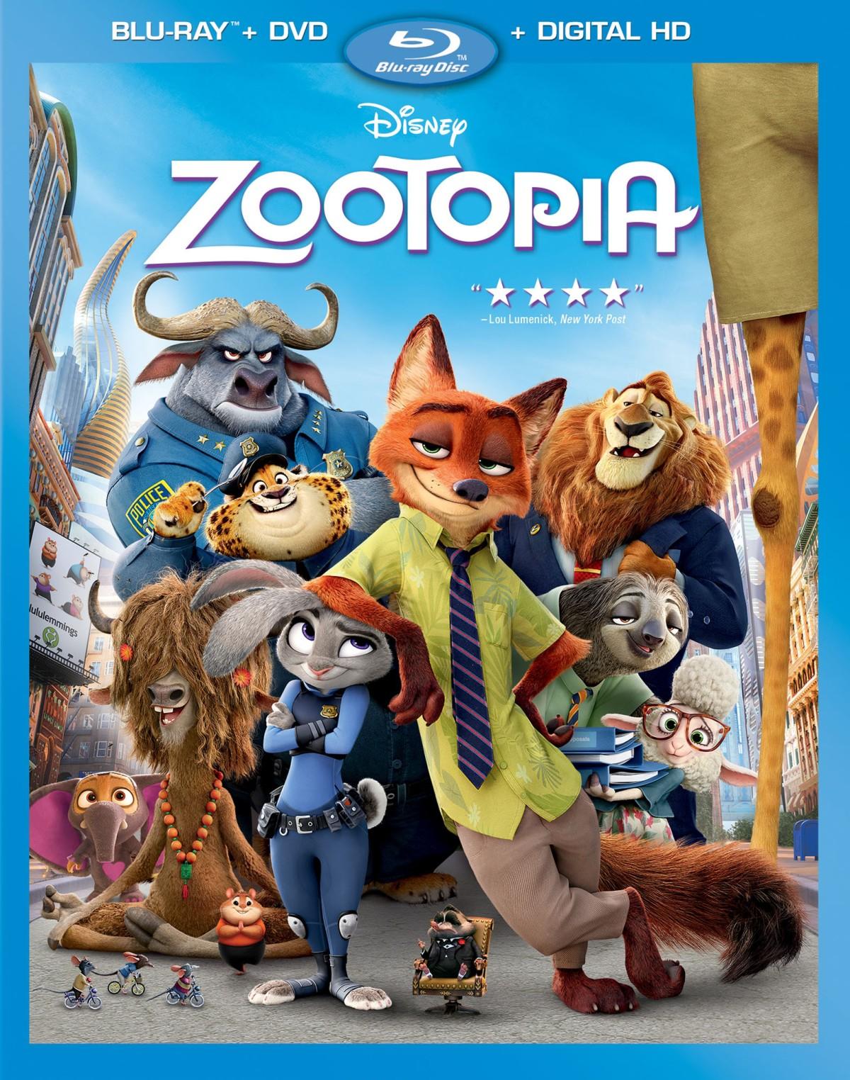 """Matthew's Monday Movie: """"Zootopia"""""""
