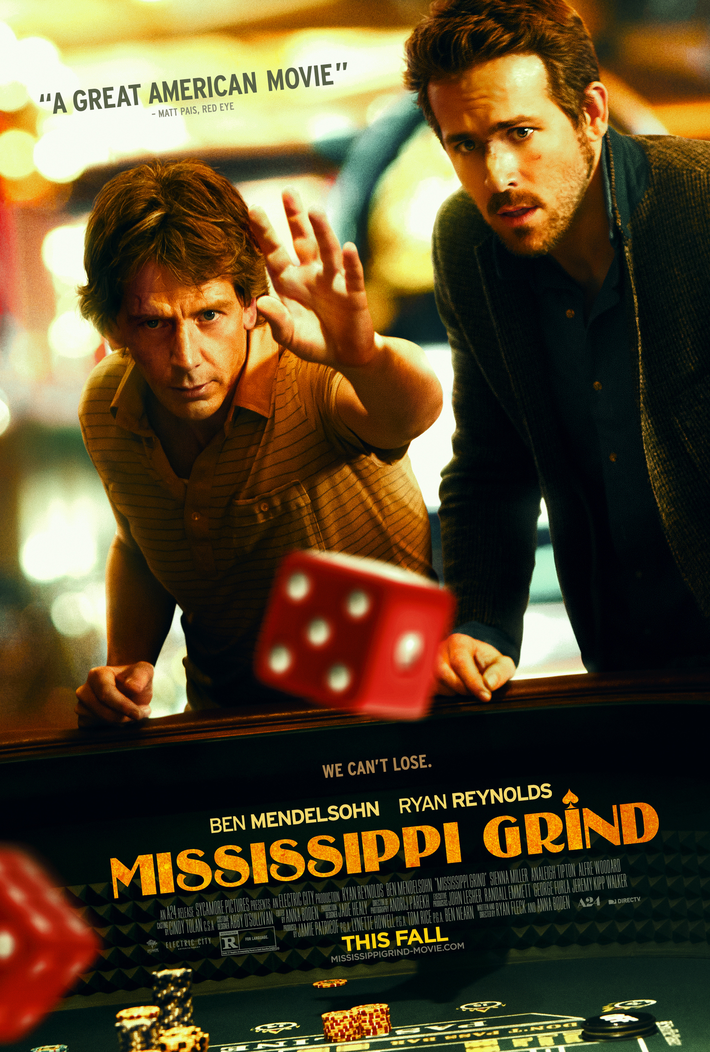 "Matthew's Monday Movie: ""Mississippi Grind"""