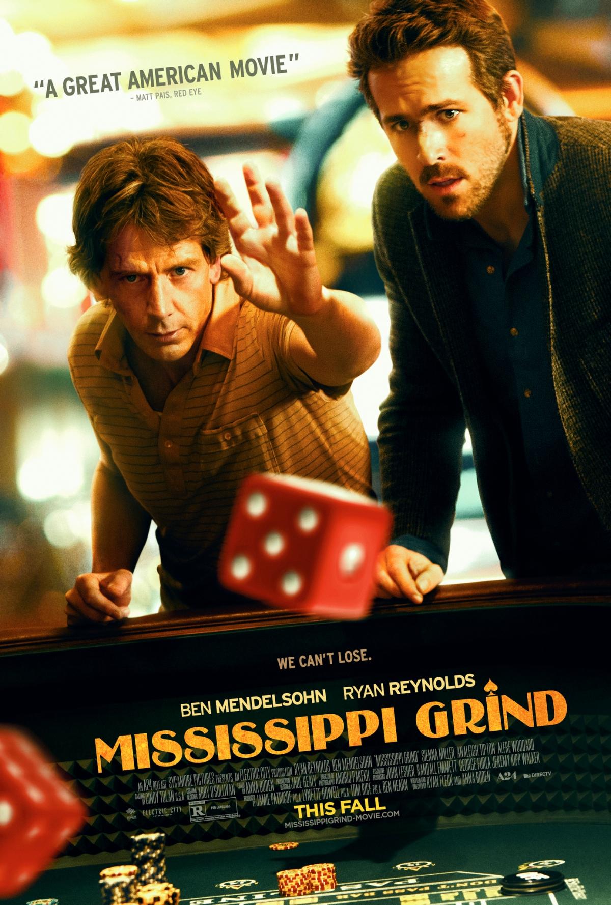 """Matthew's Monday Movie: """"Mississippi Grind"""""""